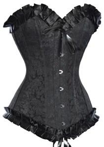 corset vintage noir 2