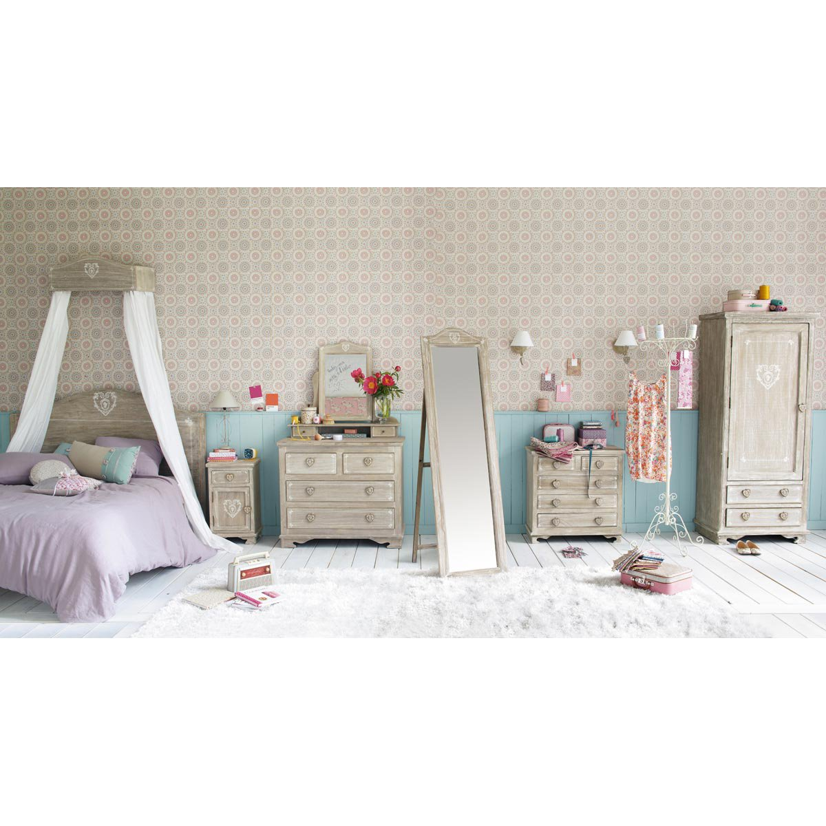 collection junior maison du monde lovely pastel. Black Bedroom Furniture Sets. Home Design Ideas